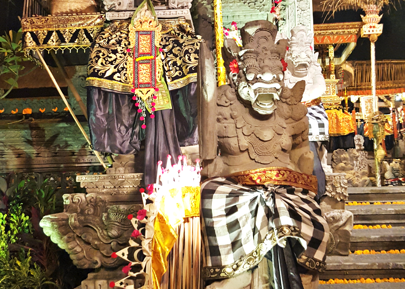 Temples, reunions, and business class to Bali!