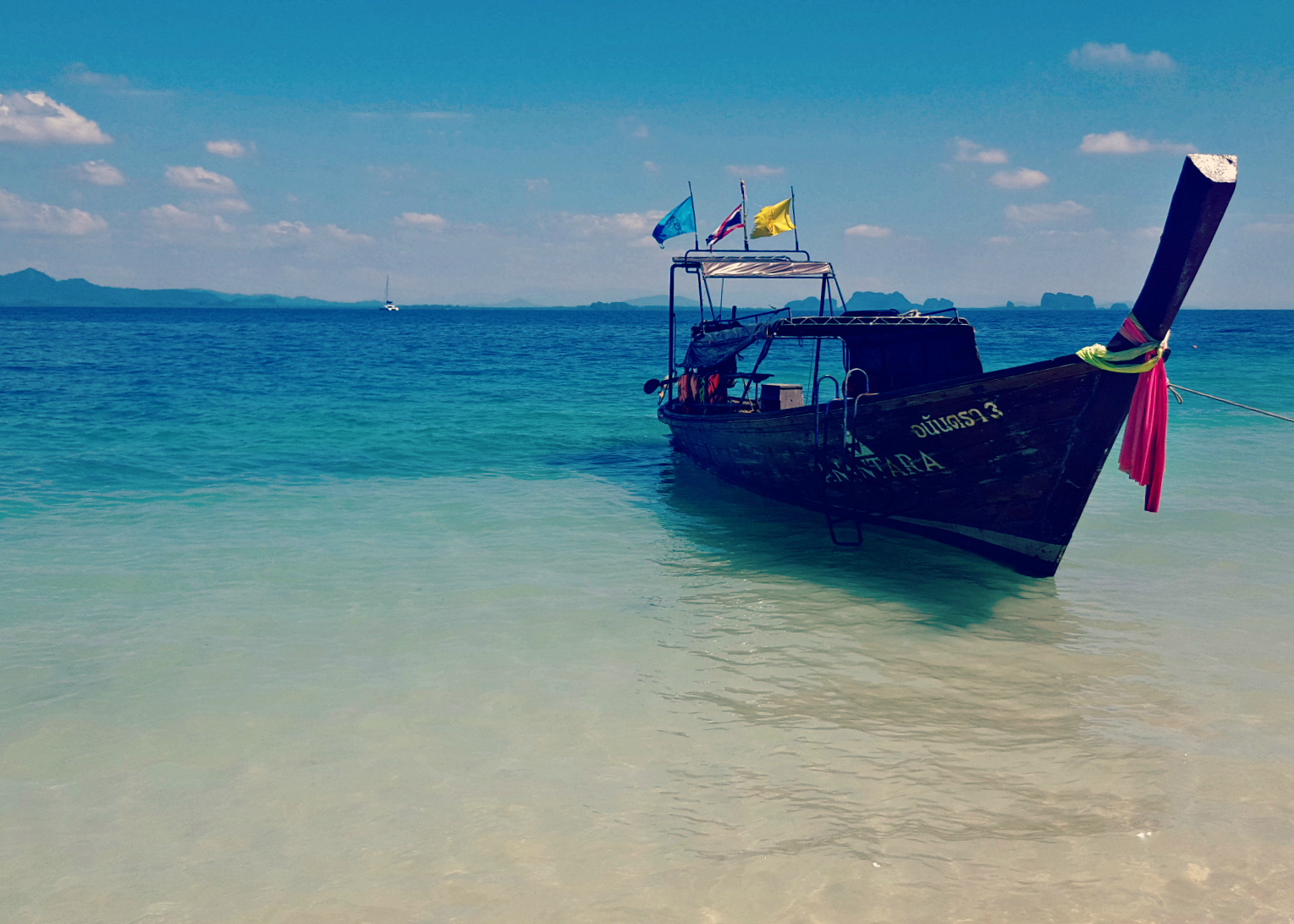 Too tall in Trang, and Thailand's idyllic islands